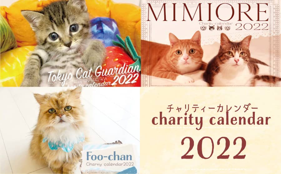 2022年チャリティーカレンダー
