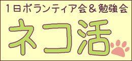 ネコ活〜1日ボランティア&勉強会〜